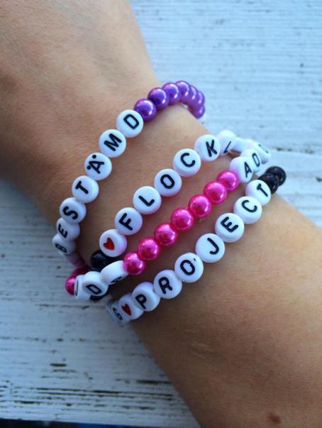 Bilder till blogg armband